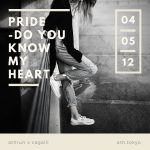 PRIDE-Do you know my heart?-